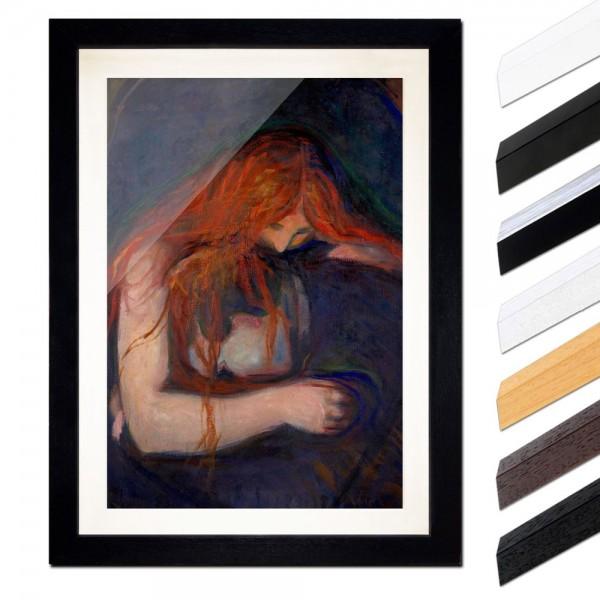 Edvard Munch - Vampire - Vampir