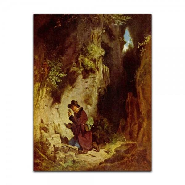 Leinwandbild - Carl Spitzweg - Der Geologe