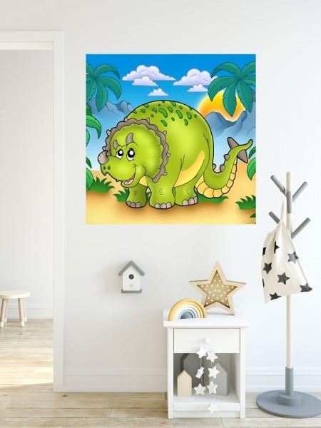 Fototapete Dino Kindertapete - Triceratops