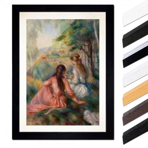 Pierre-Auguste Renoir - Junge Mädchen auf der Wiese