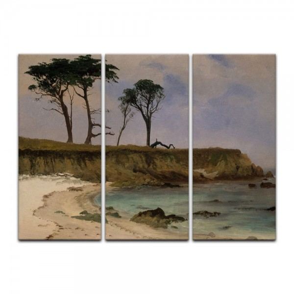 Leinwandbild - Albert Bierstadt - Sea Cove