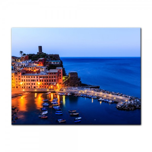 Leinwandbild - Vernazza Castle in Cinque Terre