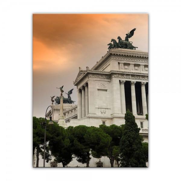Leinwandbild - Monumento a Vittorio Emanuele II - Rom Italien