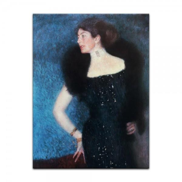 Leinwandbild - Gustav Klimt - Porträt der Rose von Rosthorn - Friedmann