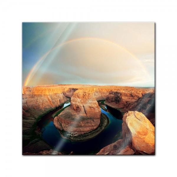 Glasbild - Horseshoe Bend Arizona