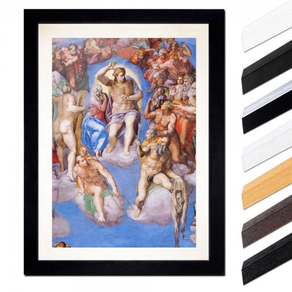 Michelangelo - Jüngstes Gericht - Detail