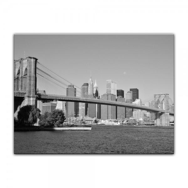 Leinwandbild - New York Bridge - USA