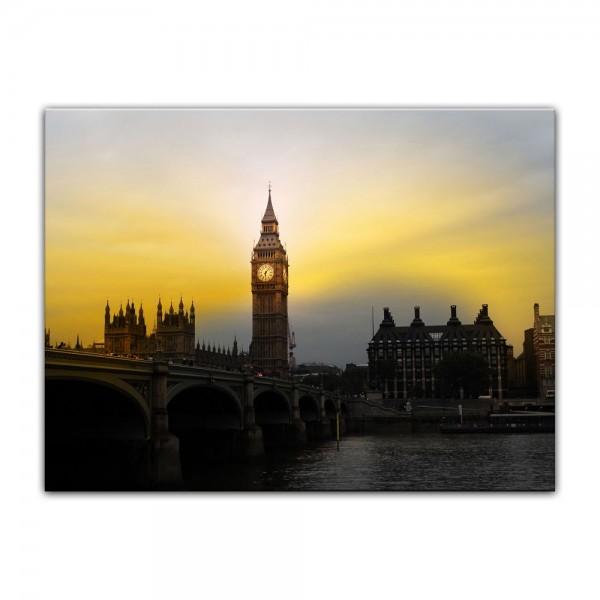 Leinwandbild - Big Ben London - UK II