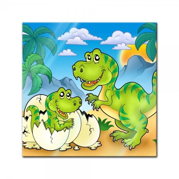 Glasbild - Dino Tyrannosaurus Rex