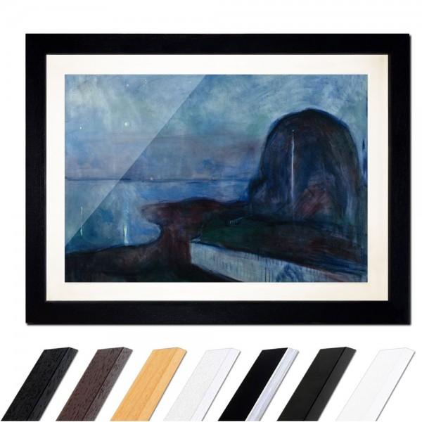 Edvard Munch - Starry Night - Sternennacht