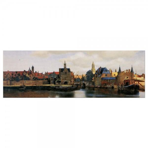 Leinwandbild - Jan Vermeer - Ansicht von Delft