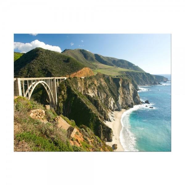 Leinwandbild - Big Sur Küstenlinie in Kalifornien