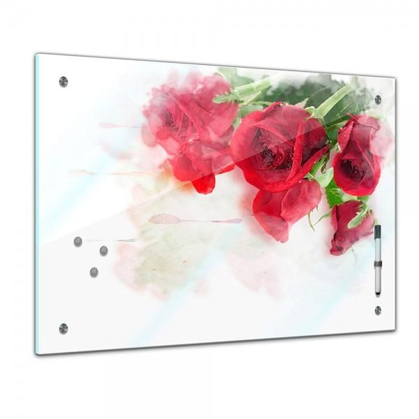 Memoboard - Pflanzen & Blumen - Rote Rosen