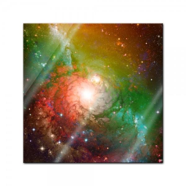 Glasbild - Spiral Galaxie II