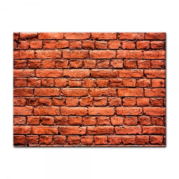 Leinwandbild - Steinmauer III
