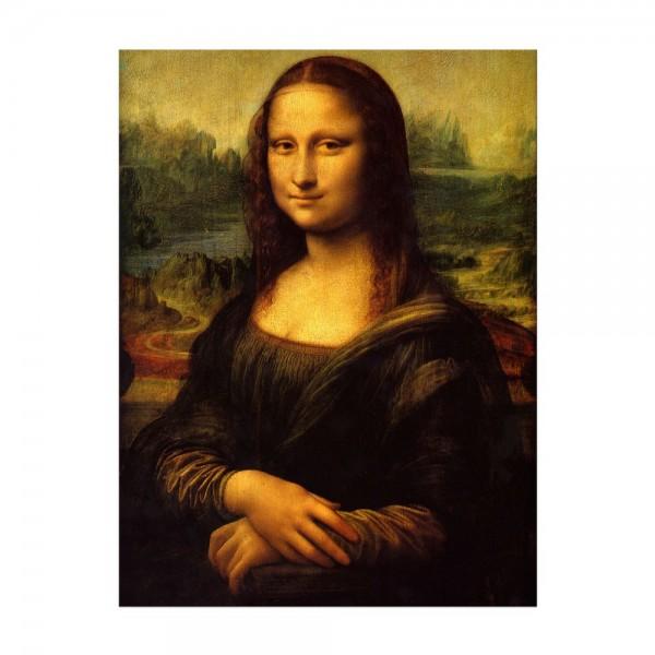 Leinwandbild - Leonardo da Vinci - Mona Lisa