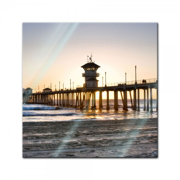Glasbild - Huntington Beach - Kalifornien