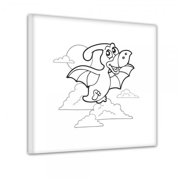 Flugsaurier - Ausmalbild