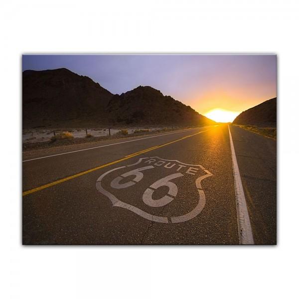 Leinwandbild - Historische Route 66 - USA