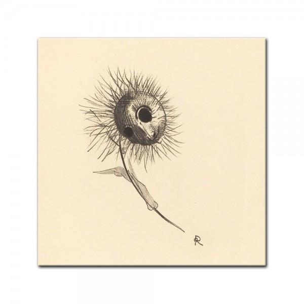 Leinwandbild - Odilon Redon - Cul de lampe