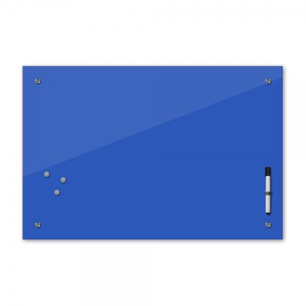 Memoboard - azurblau - blau - 24 Farben