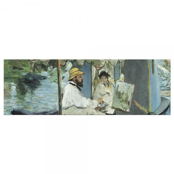 Leinwandbild - Édouard Manet - Die Barke