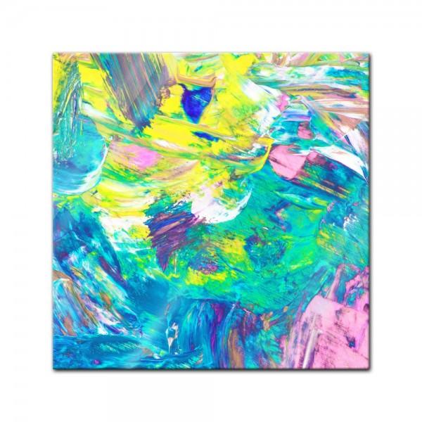 Glasbild - Abstrakte Kunst XXXV