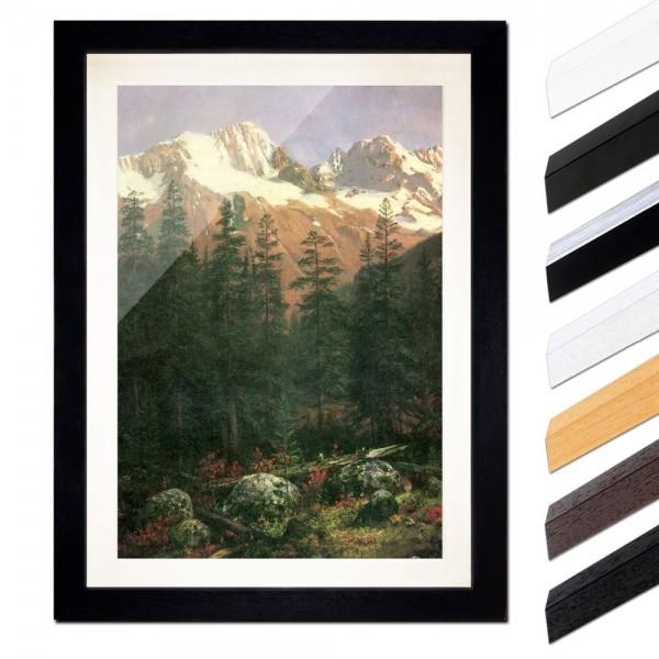 Albert Bierstadt - Canadian Rockies