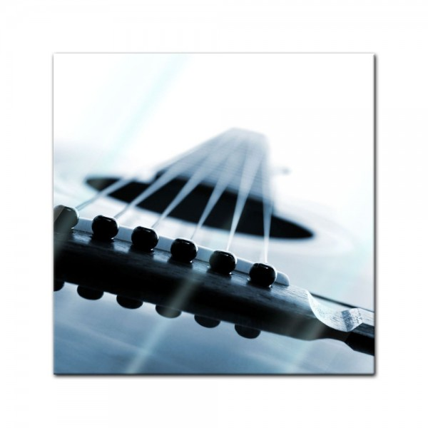 Glasbild - Gitarrenkorpus