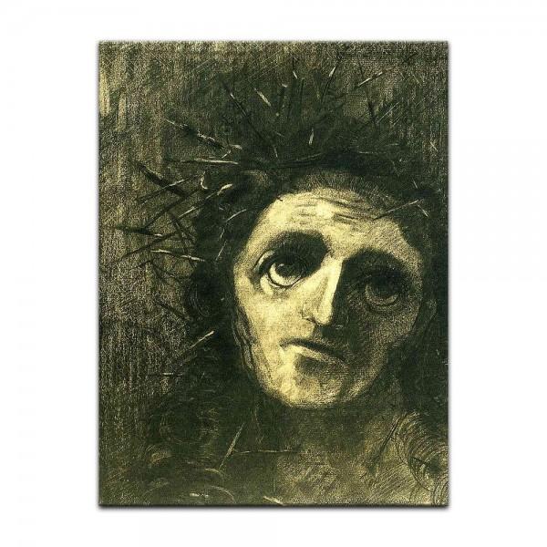 Leinwandbild - Odilon Redon - Christ