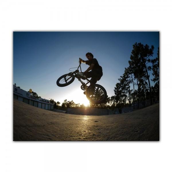Leinwandbild - BMX