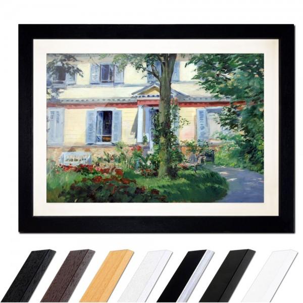 Édouard Manet - Landhaus in Rueil