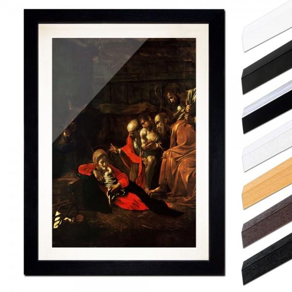 Caravaggio - Anbetung der Hirten