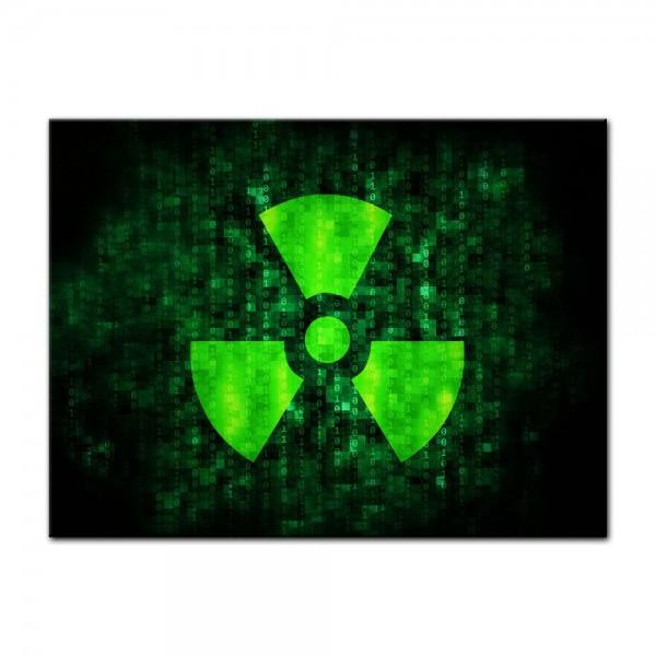 Leinwandbild - Radioaktiv
