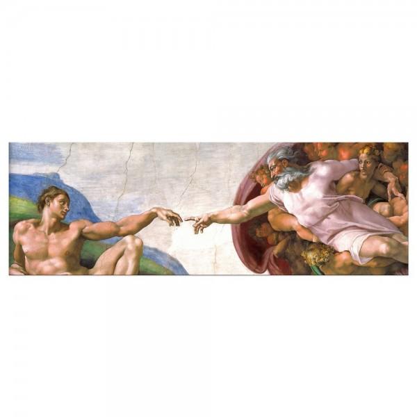 Leinwandbild - Michelangelo - Die Erschaffung Adams