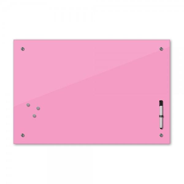 Memoboard - hellrosa - rosa - 80x60