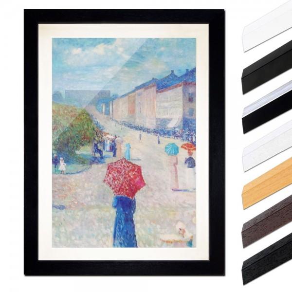 Edvard Munch - Frühling auf der Johan-Karl-Straße