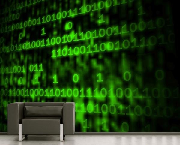 Fototapete - Matrix Code