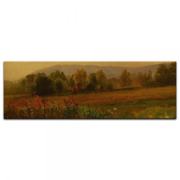 Leinwandbild - Albert Bierstadt - Autumn Landscape