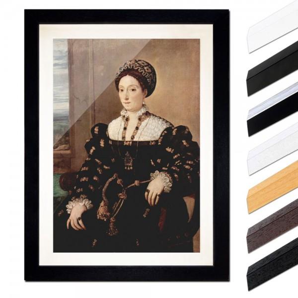 Tizian - Porträt der Eleonora Gonzaga della Rovere
