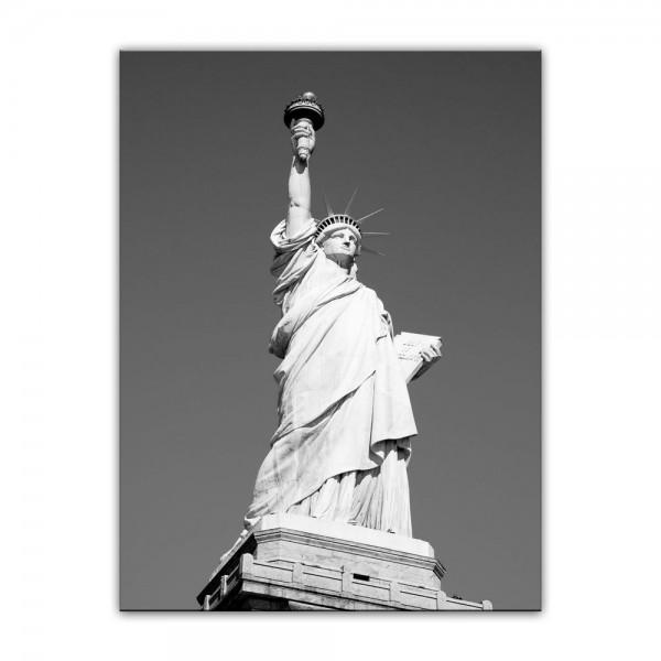 Leinwandbild - Statue of Liberty - New York USA Freiheitsstatue