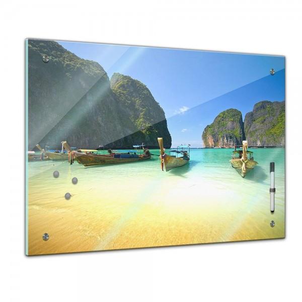 Memoboard - Landschaft - Tropischer Strand Thailand