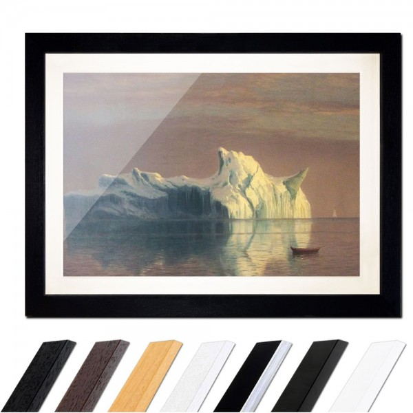 Albert Bierstadt - The Iceberg - Der Eisberg