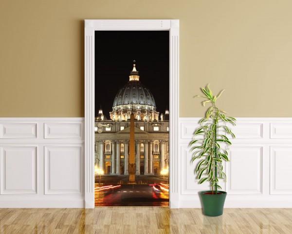 Türaufkleber - Vatikanstadt - Rom