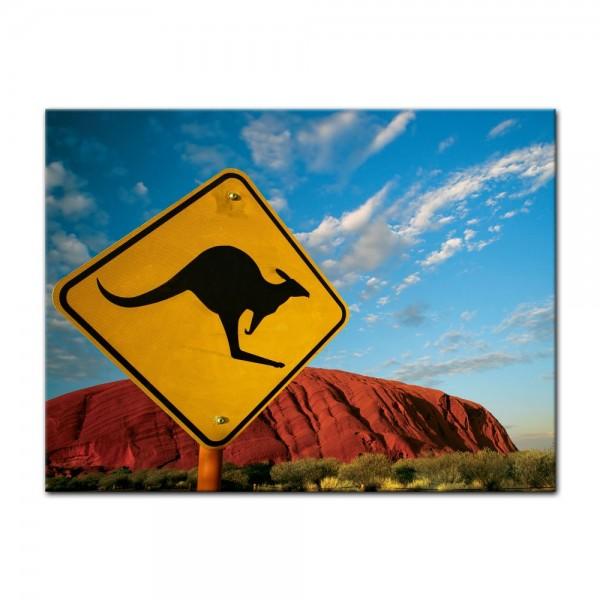 Leinwandbild - Ayers Rock - Australien