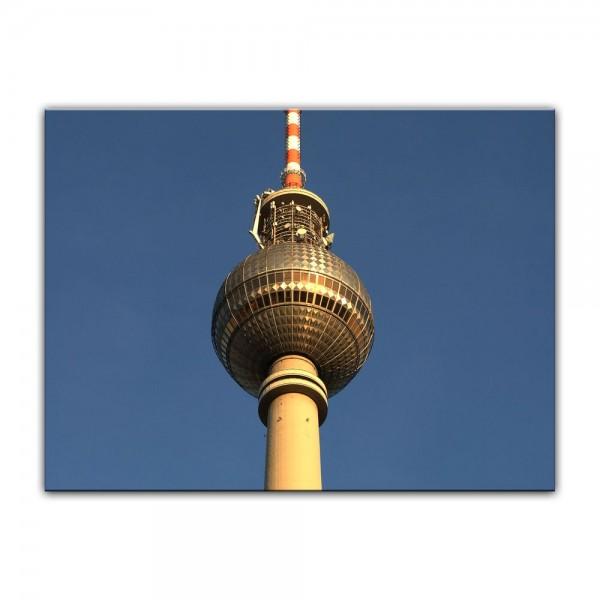 Leinwandbild - Fernsehturm
