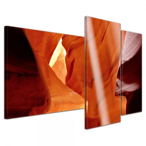 SALE Leinwandbild - Antelope Canyon I - 130x80 cm 3tlg