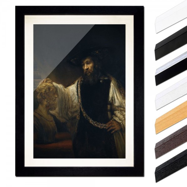 Rembrandt - Aristoteles mit einer Büste von Homer
