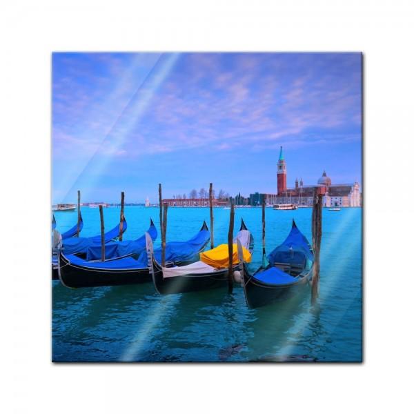 Glasbild - Venedig II