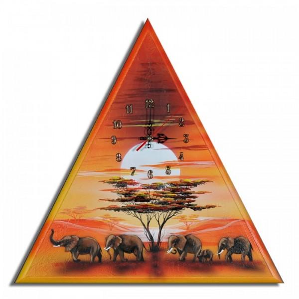 Wanduhr Elefanten M 21
